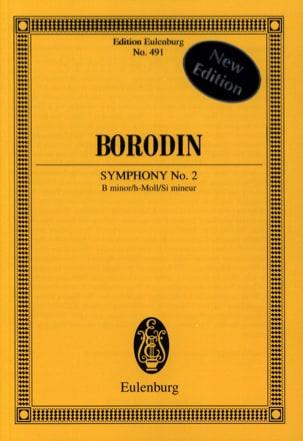 Sinfonie Nr. 2 h-Moll BORODINE Partition Petit format - laflutedepan