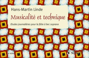 Hans-Martin Linde - Musicality and Technique - Sheet Music - di-arezzo.co.uk