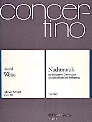 Nachtmusik –Partitur - Harald Weiss - Partition - laflutedepan.com