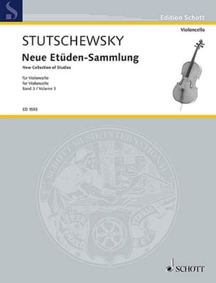 Joachim Stutschewsky - Neue Etüden-Sammlung - Bd. 3 - Sheet Music - di-arezzo.co.uk