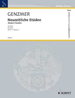 Harald Genzmer - Neuzeitliche Etüden f. Flöte - Bd. 1 - Sheet Music - di-arezzo.co.uk