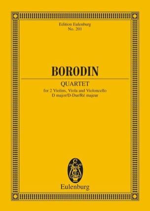 Alexandre Borodine - Streichquartett Nr. 2 D-Dur – Partitur - Partition - di-arezzo.fr