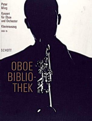 Peter Mieg - Oboen-Konzert - Oboe Klavier - Partition - di-arezzo.fr