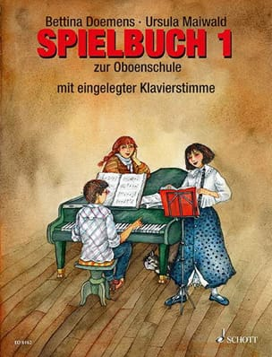 Doemens Bettina / Maiwald Ursula - Oboenschule - Spielbuch 1 - Sheet Music - di-arezzo.co.uk