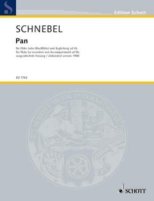 Pan (Fassung 1988) – Flöte (o. Blockflöte) u. Begleitung ad lib. - laflutedepan.com