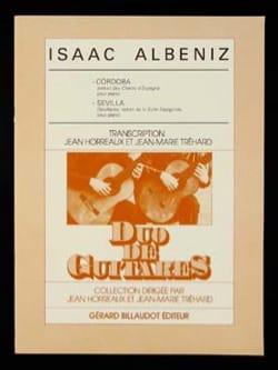 Isaac Albeniz - Cordoba / Sevilla - 2 Guitares - Partition - di-arezzo.fr