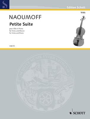 Emile Naoumoff - Petite suite - Partition - di-arezzo.fr