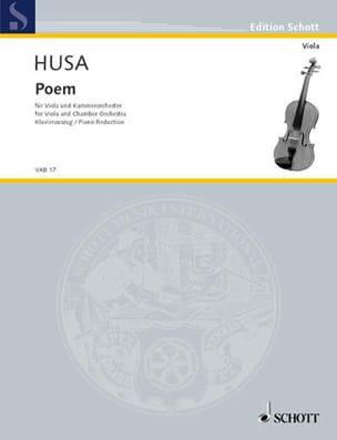 Poem - Karel Husa - Partition - Alto - laflutedepan.com