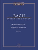 BACH - Magnificat D-Dur - Driver - Sheet Music - di-arezzo.co.uk