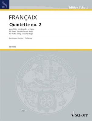 Quintette Nr. 2 1989 - Flûte, Harpe et Trio A Cordes - laflutedepan.com