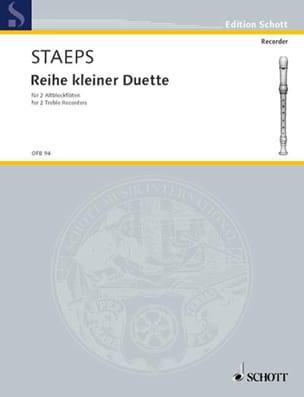 Reihe kleiner Duette - Hans Ulrich Staeps - laflutedepan.com