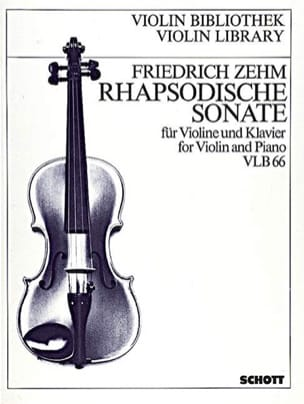 Rhapsodische Sonate - Friedrich Zehm - Partition - laflutedepan.com