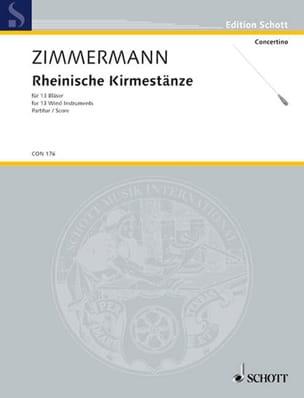 Rheinische Kirmestänze - Partitur - laflutedepan.com