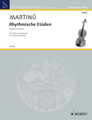 Bohuslav Martinu - Rhythmische Etüden - Sheet Music - di-arezzo.co.uk