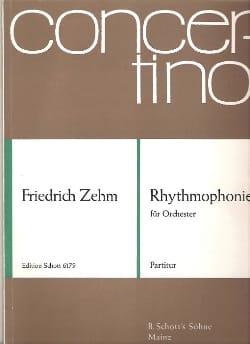 Rhythmophonie - Partitur - Friedrich Zehm - laflutedepan.com
