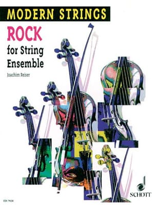 Joachim Reiser - Rock for String Ensemble - Partition - di-arezzo.fr
