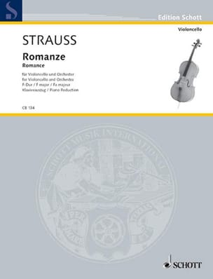 Richard Strauss - Romance in F Major Opus Av75 - Sheet Music - di-arezzo.co.uk