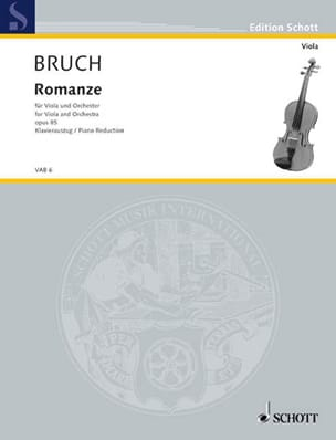 Max Bruch - Romanze for Viola, F-Dur, op. 85 - Sheet Music - di-arezzo.co.uk