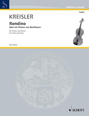 Fritz Kreisler - Rondino on a theme of Beethoven - Sheet Music - di-arezzo.co.uk