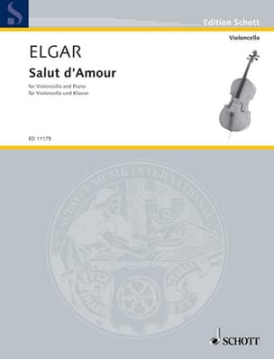 ELGAR - Hi of Love opus 12 N ° 4 - Sheet Music - di-arezzo.com
