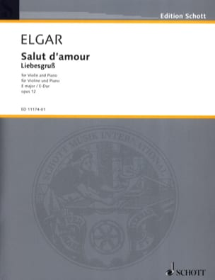 ELGAR - Hi love op. 12 in E Major - Sheet Music - di-arezzo.co.uk