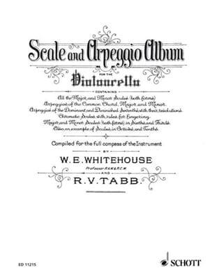 Whitehouse W. E. / Tabb R. V. - Scale und Arpeggio Album - Sheet Music - di-arezzo.co.uk