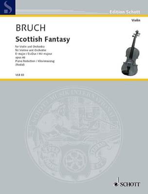Schottische Fantasie op. 46 - Max Bruch - Partition - laflutedepan.com