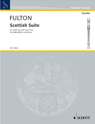 Scottish suite Norman Fulton Partition Flûte à bec - laflutedepan