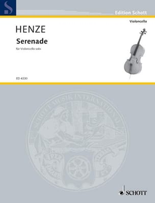 Hans Werner Henze - Serenade - Sheet Music - di-arezzo.co.uk