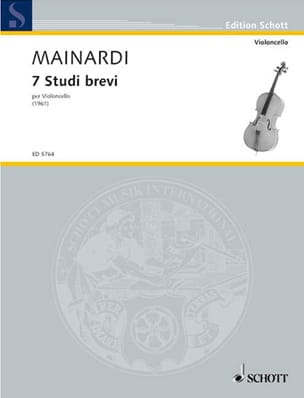 Enrico Mainardi - 7 studi brevi - Sheet Music - di-arezzo.co.uk