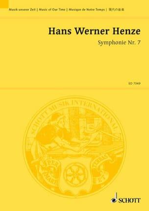 Sinfonie Nr. 7 1983/84 - Hans Werner Henze - laflutedepan.com