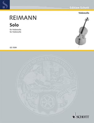 Aribert Reimann - Solo (1981) - Partition - di-arezzo.fr