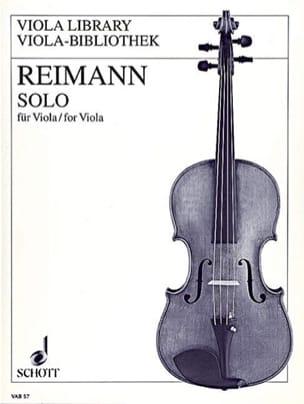 Solo (1996) - Aribert Reimann - Partition - Alto - laflutedepan.com