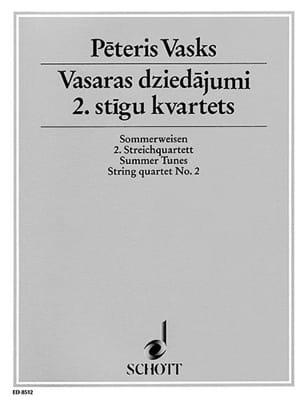 Sommerweisen - Quatuor à Cordes n° 2 Peteris Vasks laflutedepan