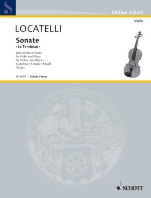 Sonate le Tombeau - Violon et piano - laflutedepan.com