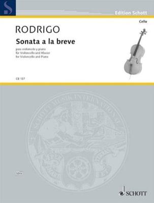 Sonata a la breve (1978) - Joaquín Rodrigo - laflutedepan.com