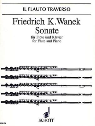 Sonate - Flöte Klavier - Friedrich K. Wanek - laflutedepan.com