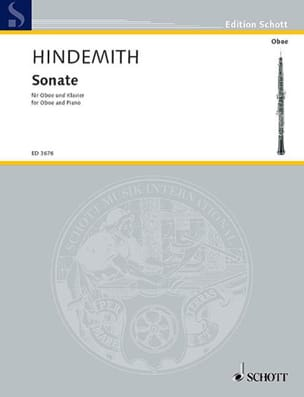 Paul Hindemith - Sonate (1938) - Partition - di-arezzo.fr