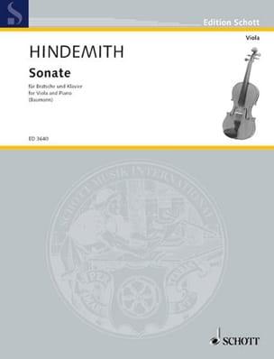 Paul Hindemith - Sonate 1939 - Bratsche Klavier - Sheet Music - di-arezzo.co.uk