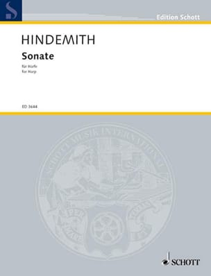 Paul Hindemith - Sonate – Harpe - Partition - di-arezzo.fr