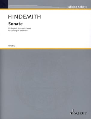 Paul Hindemith - Sonate - Englisch Horn Klavier - Sheet Music - di-arezzo.co.uk
