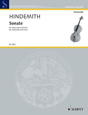 Paul Hindemith - Sonate (1948) - Partition - di-arezzo.fr