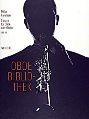 Sonate für Oboe und Klavier - Milko Kelemen - laflutedepan.com