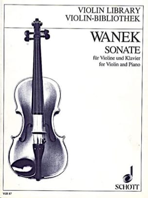 Sonate (1989) - Friedrich K. Wanek - Partition - laflutedepan.com