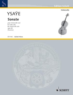 Eugène Ysaÿe - Sonata c-Moll op. 28 - Partitura - di-arezzo.es