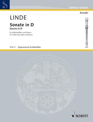 Hans-Martin Linde - Sonata in D - Altblockflöte u. Klavier - Sheet Music - di-arezzo.co.uk