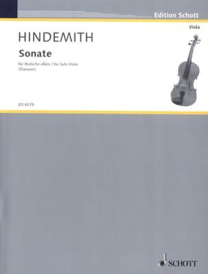 Paul Hindemith - Sonate für Bratsche allein 1937 - Partition - di-arezzo.fr