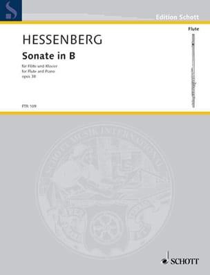 Sonate in B op. 38 - Flöte Klavier - laflutedepan.com