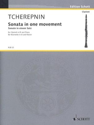 Sonate in einem Satz - Klarinette in B u. Klavier - laflutedepan.com