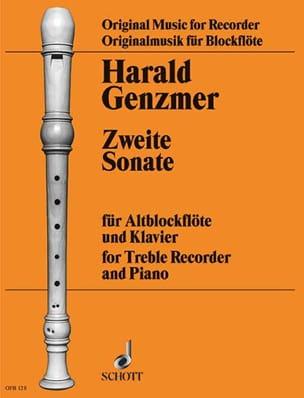 Sonate Nr. 2 - Altblockflöte Klavier - laflutedepan.com